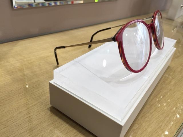Branche de lunettes plate