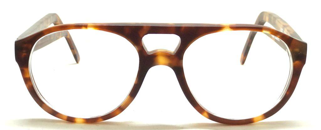lunettes double barre