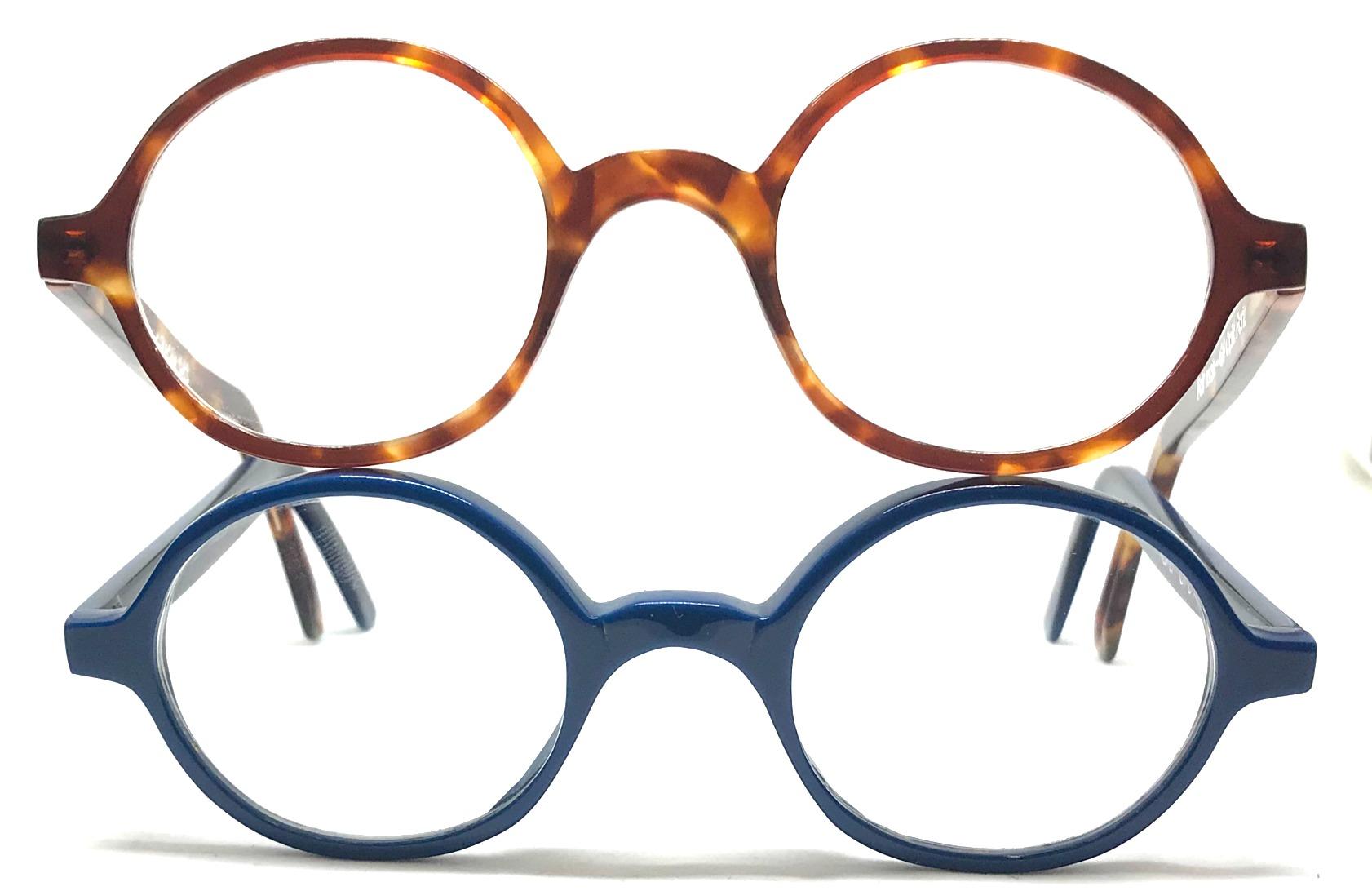lunettes rondes fines et légères