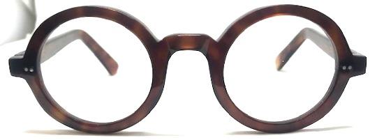 lunettes rondes épaisses