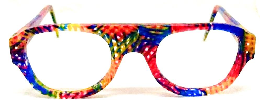 lunettes sur mesure colorées