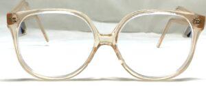 Grandes lunettes couleur Nude