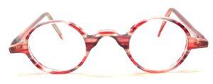 lunettes rondes jaspé