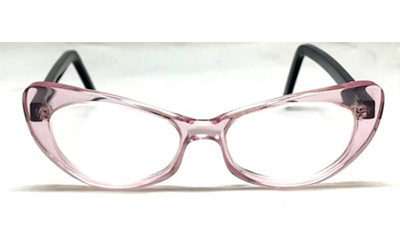 Lunettes papillons Roses