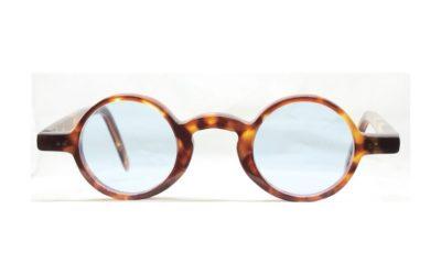 lunettes soleil rondes verres bleus