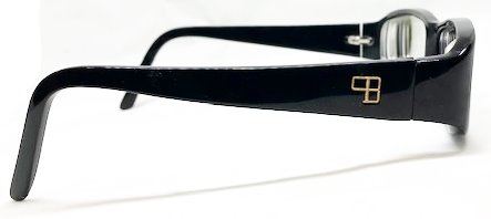 Lunettes rectangles branche large