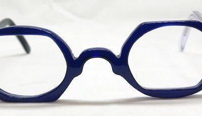 Monture originale bleue