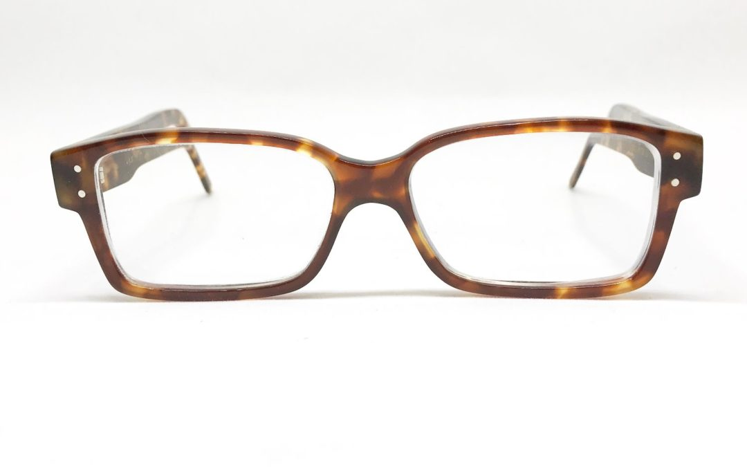 lunette écaille rétro